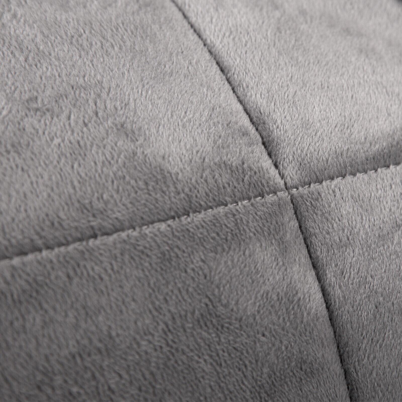 Gewichtsdecke Therapiedecke Weighted Blanket Schwere Decke Flanell 200 x 230 cm