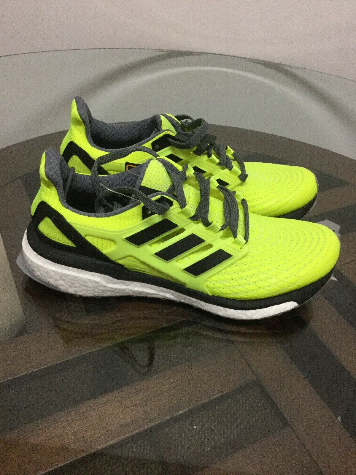 [BB3455] Mens Adidas Energy Boost Running shoes Men's Size 8.5 New Without Box