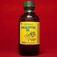 Eucalyptus Oil Aromatherapy Sinus Cold Cough Muscle aches Aceite de Eucalipto