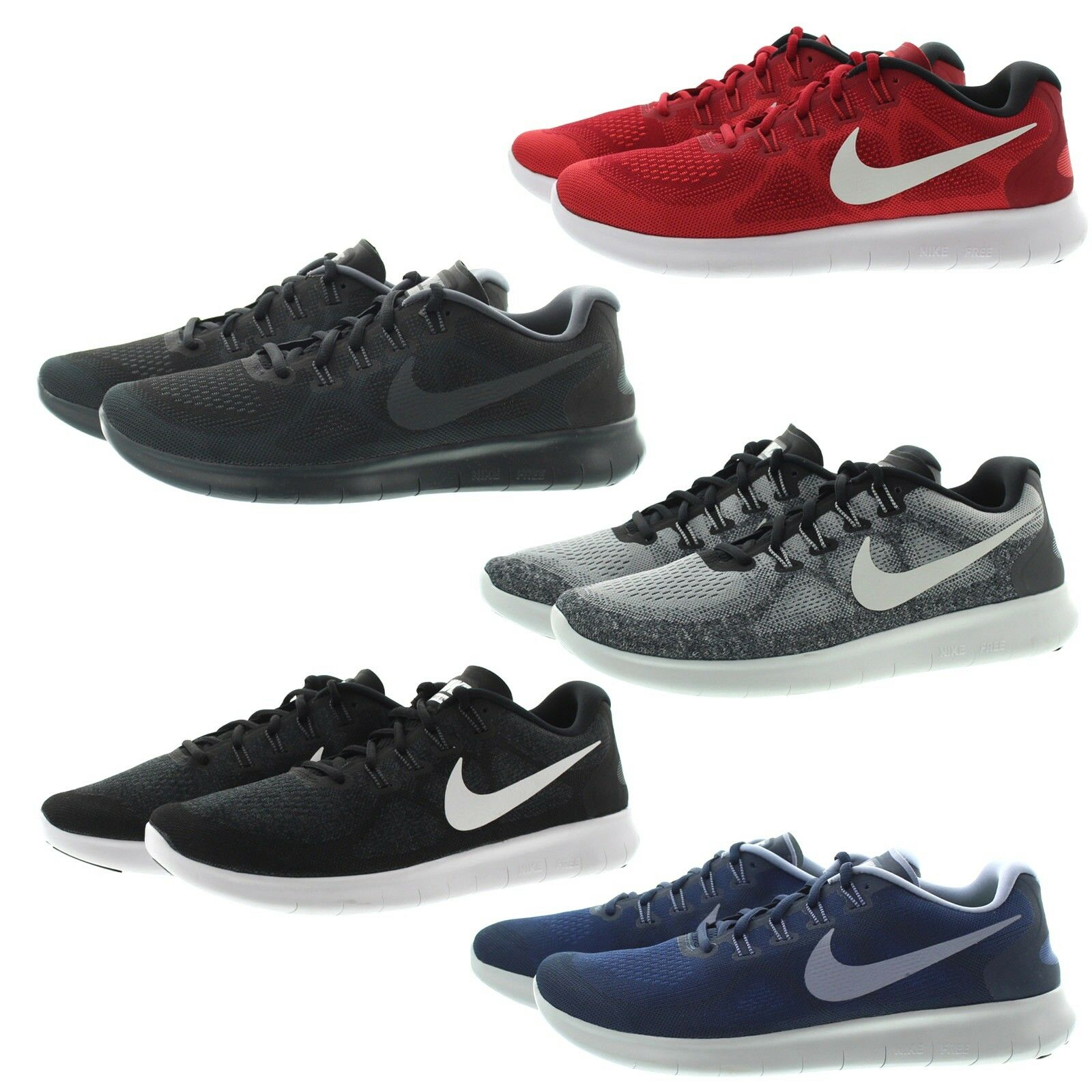 Nike 880839 Mens Free RN Lightweight Performance Running shoes Sneakers