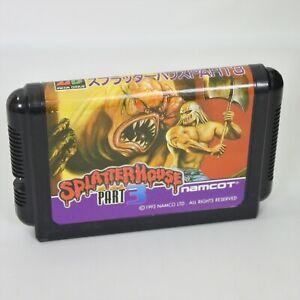 Mega Drive SPLATTER HOUSE PART 3 Cartridge Only Sega 2568 mdc