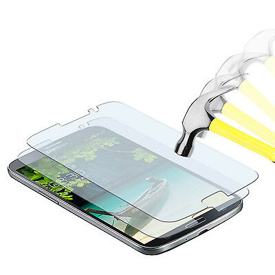2 x PANZERFOLIE Samsung Galaxy Mega 6.3 TPU Klar Display Bruchschutz Folie