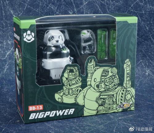 52Toys Beast Box BB-13 Panda Transformable Robot Action Figure New