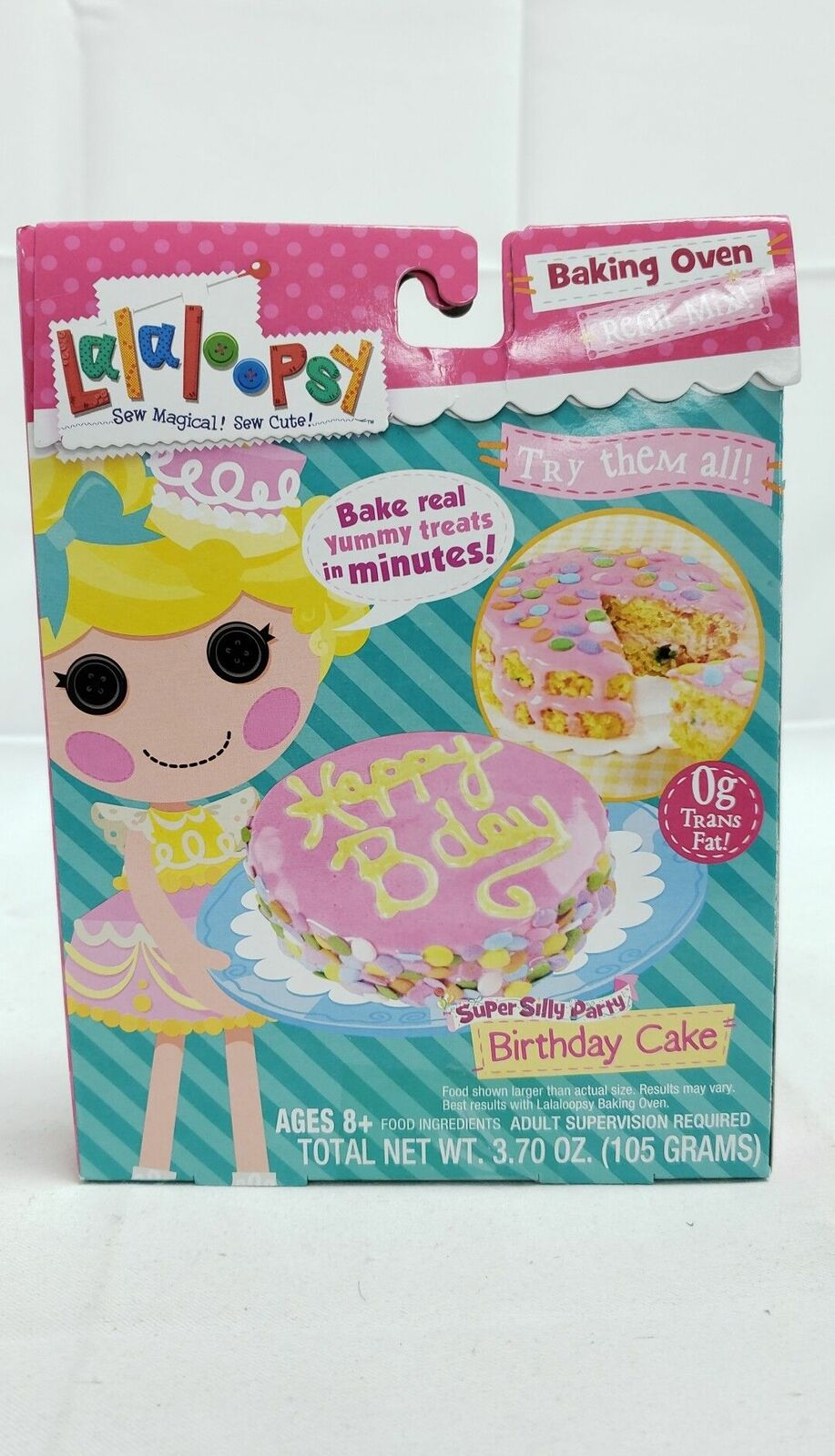 Tremendous Lalaloopsy Baking Oven Mix 0G Trans Fat Super Silly Party Birthday Personalised Birthday Cards Rectzonderlifede