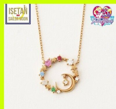 Sailor Moon x isetan Samantha Tiara 5 warrior Necklace pendant 2018 key Japan