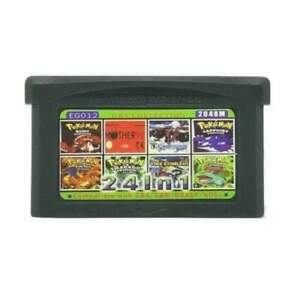 24-In-1-Multi-Cart-all-Castlevania-Zelda-Metroid-For-Gba-Free-Shipping