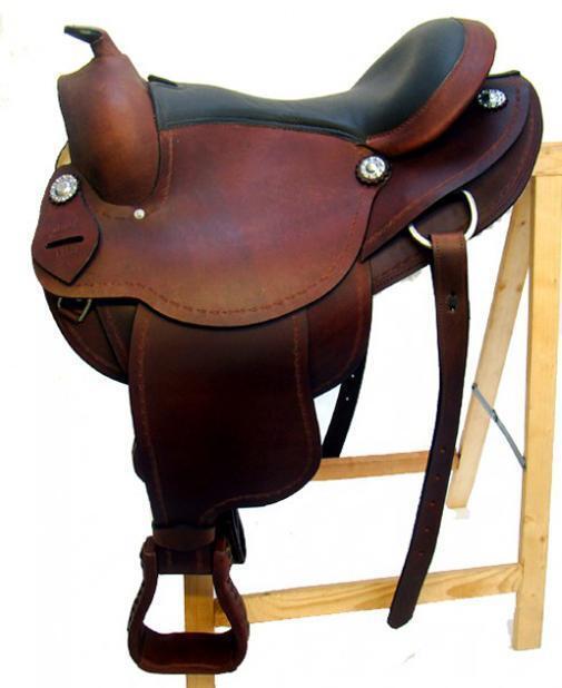 Western sillín  Austin  de cuero de búfalo de alta calidad nuevo