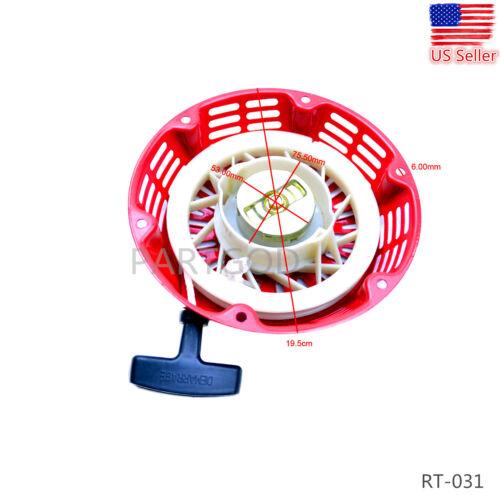 RECOIL PULL STARTER FITS HONDA GX240 GX270 173F 177F 8HP 9HP 28400-ZE2-W01ZA