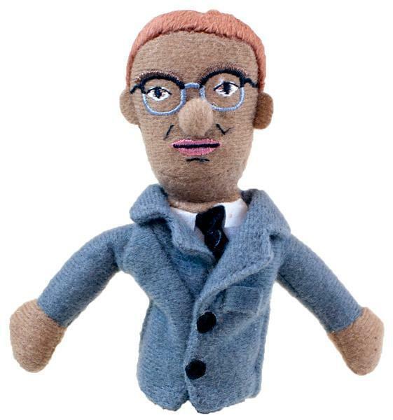 Unemployed Philosophers Guild Magnetic Personalities Finger Puppet Fridge Magnet
