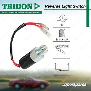 Tridon Reverse Light Switch for Holden Rodeo KB TF88 TF93 TF97 TF99 RA Shuttle