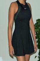 NIKE COURT MARIA PREMIER WOMEN'S TENNIS DRESS SIZE M MEDIUM - BLACK - $US150.00
