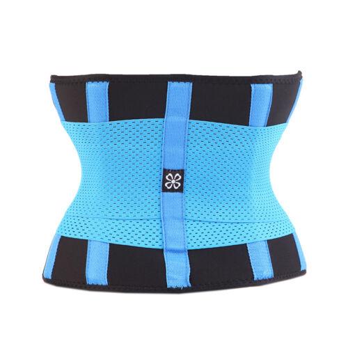 UK Sport Waist Trainer Cincher Tummy Girdle Belt Workout Body Shaper Fitness Top