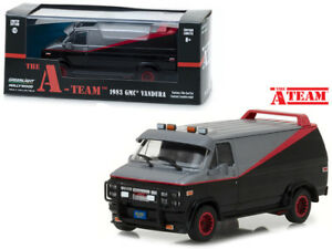 Greenlight-86515-1-43-SCALA-1983-GMC-Vandura-dell-039-A-TEAM-VAN