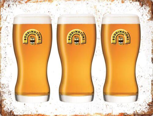 BODDINGTONS ALE BITTER Beer Lager Pint Pub Shed Man Cave Garage Bar METAL SIGN