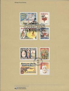 1426-49c-Forever-Vintage-Circus-Posters-4899-4905-Souvenir-Page
