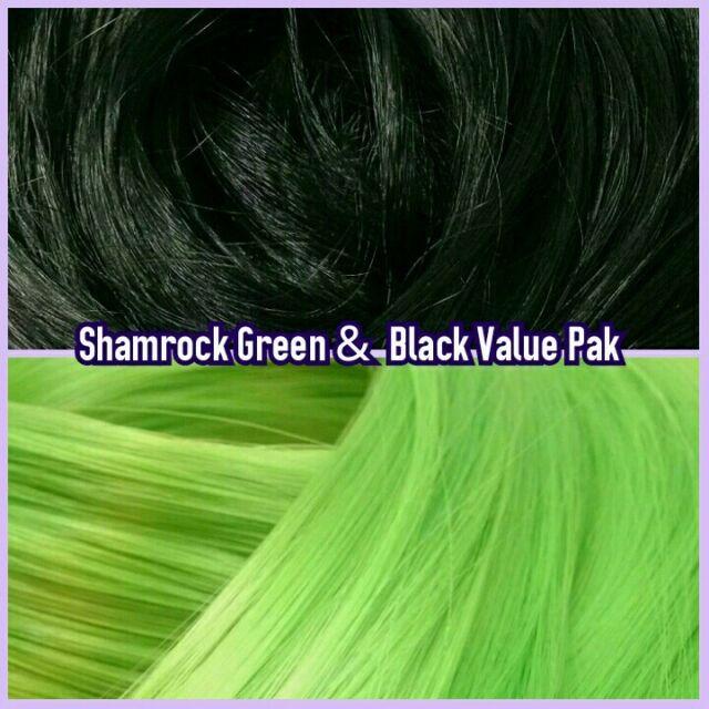 Black /& White XL 4oz 2 Color Value Pack Nylon Doll Hair Hanks for Rerooting