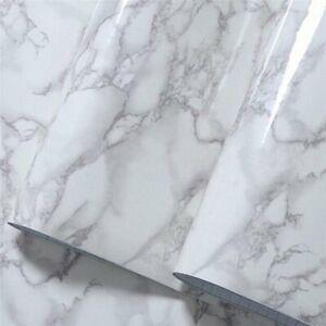 Pellicola di vinile autoadesivo motivo granito effetto marmo grigio real effect