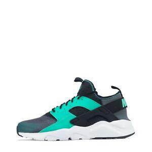 Elástico No puedo leer ni escribir Escupir  Nike Air Huarache Run Ultra Hombre Para Correr Zapatillas Gimnasio Zapatos  Informales Gris Oscuro | eBay