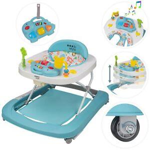 ib style® Little DINO andador para bebe primeros pasos juguete actividad AZUL