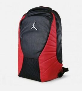 Nike Air Jordan 12 XII Retro Flu Game Bred Black Red Bulls Backpack ... 07cf5f34f847b