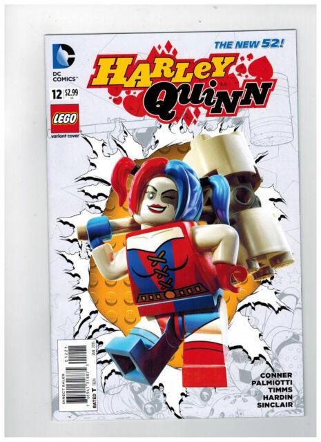 HARLEY QUINN #12  LEGO Variant - The New 52!                    / 2015 DC Comics