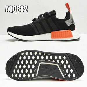 new concept 30098 a97bd Image is loading Adidas-Originals-NMD-R1-Mesh-Boost-Runner-Black-