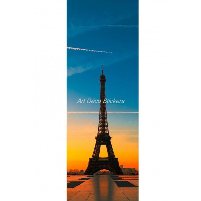 Cartel Póster Formato Puerta Torre Eiffel 518 Arte Decoración Pegatinas