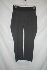 7b56e0ae0ece0 Oh! Mamma Maternity Gray pants with Comfort Band size medium Skinny ...