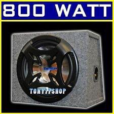 BASS BOX TW300RD-II + SUBWOOFER 800 WATT CASSA ACUSTICA BS-30 200 WATT RMS 30CM