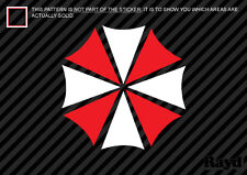 (2x) Umbrella Corp. Sticker Die Cut Decal Self Adhesive resident evil multicolor