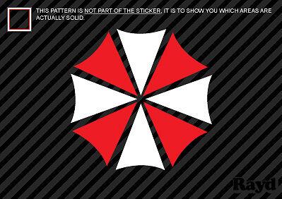 (2x) Umbrella Corp. Sticker Die Cut Decal Self Adhesive resident evil multicolor