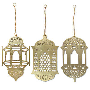 3Pcs-Islam-Eid-Ramadan-Mubarak-Decorations-Wooden-Golden-Hanging-Lantern-Baubles