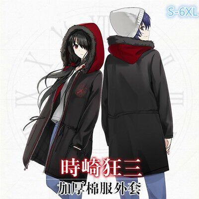 Tokisaki Kurumi DATE A LIVE Anime Unisex Long sleeves sweat shirt Jacket Coat
