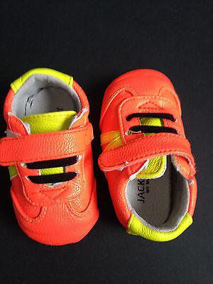 Sneaker von Jack & Lily Gr. 12-18 Monate Neonfarbend