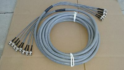 US MADE  Commscope DS3//735A  coax cable  BNC male   to  MINI  WECO  440   25 FT