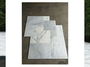 image is loading - White Carrara Marble