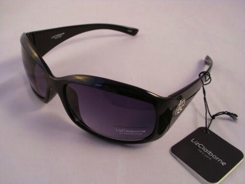 Nero 81705 100/% protezione UV Liz CLAIBORNE Occhiali da Sole