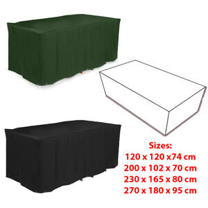 Garden Patio Furniture Cover Rattan Table Cube Sofa Covers Outdoor Waterproof