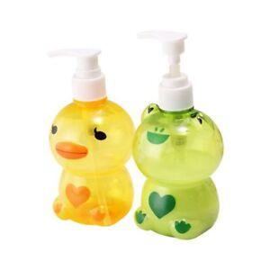 Details About 250ml Portable Soap Dispenser Cute Empty Pump Bottle Shampoo Shower Container