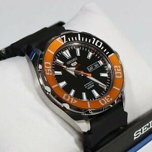 Seiko-5-Sports-Automatic-24-Jewel-Men-039-s-Watch-SRPC59K1