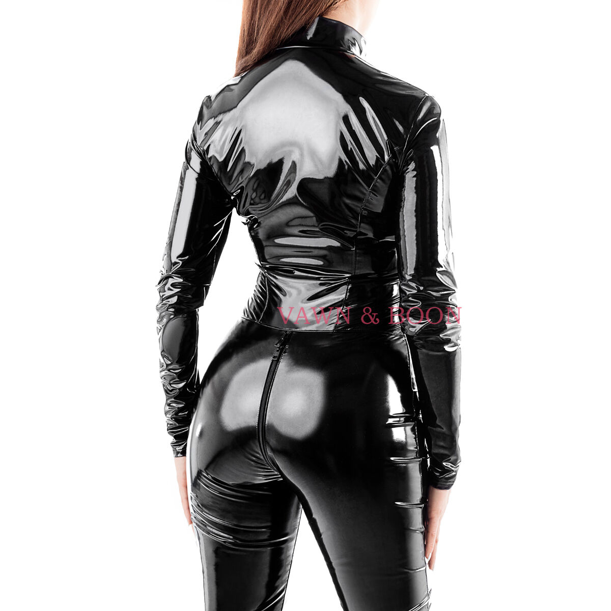 VORTEX PVC catsuit Vawn and Boon - regular and tall heights UK 8 10 12 14 16 18
