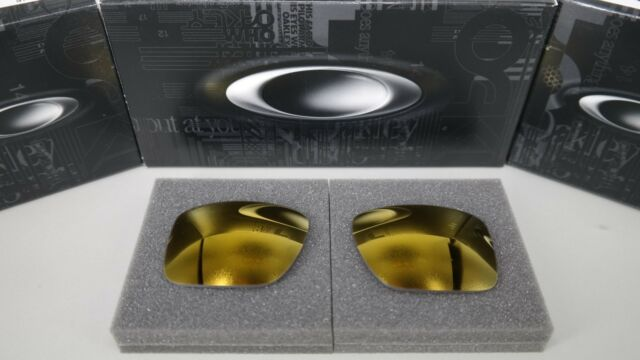 NEW Oakley HOLBROOK METAL 24K IRIDIUM OO4123 Replacement Lens Authentic