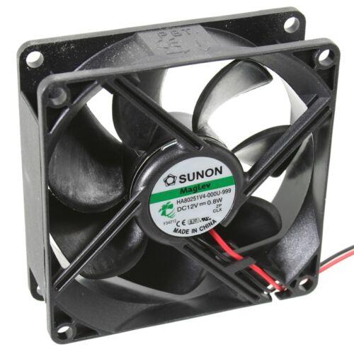 40m³//h de sunon Ha80251v4-999 axial-ventilateur 80x80x25mm 12v = 2000 tr//min