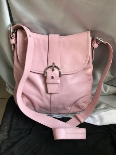 COACH VINTAGE PINK CROSSBODY BAG