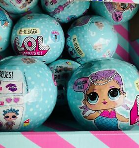LOL-Surprise-Series-1-Wave-2-Doll-Sealed-Merbaby-Ball-New-Authentic-L-O-L-MGA