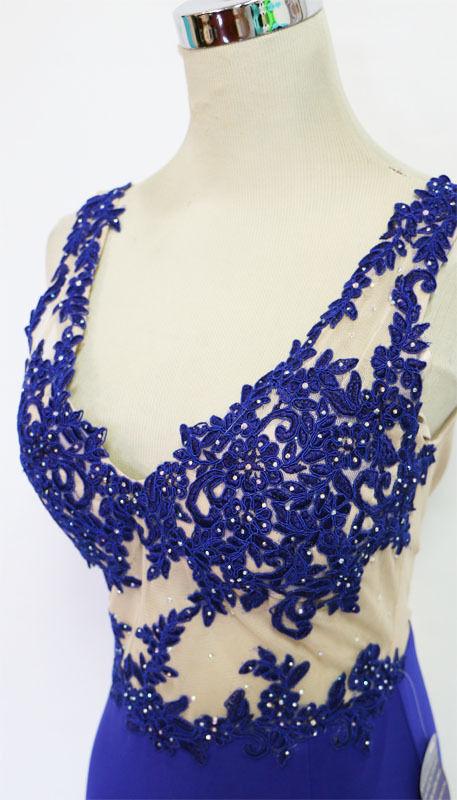 BLONDIE NITES NITES NITES Royal Prom Formal Party Gown 9 - 190 NWT 4427ac
