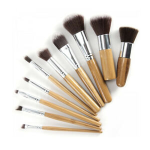 Eco-Friendly-Bamboo-Hair-Brush-Set-With-Free-Case-A-Set-of-10-Makeup-Brushes-f
