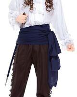 12ft Long Large Linen Pirate Swashbuckling Sash Belt Halloween Costume Accessory