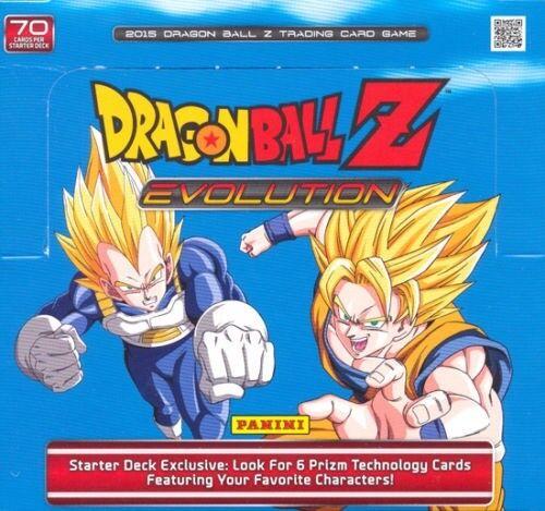 Evolution STARTER DECK BOX 10 Decks NEW SEALED DRAGON BALL Z DBZ PANINI