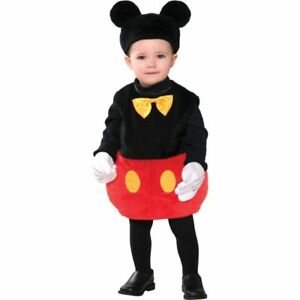 590bf9d428b3 Image is loading Disney-Baby-Mickey-Mouse-Infant-Costume-Fancy-Dress-